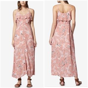 Sanctuary Isabella Button Down Printed Maxi Dress